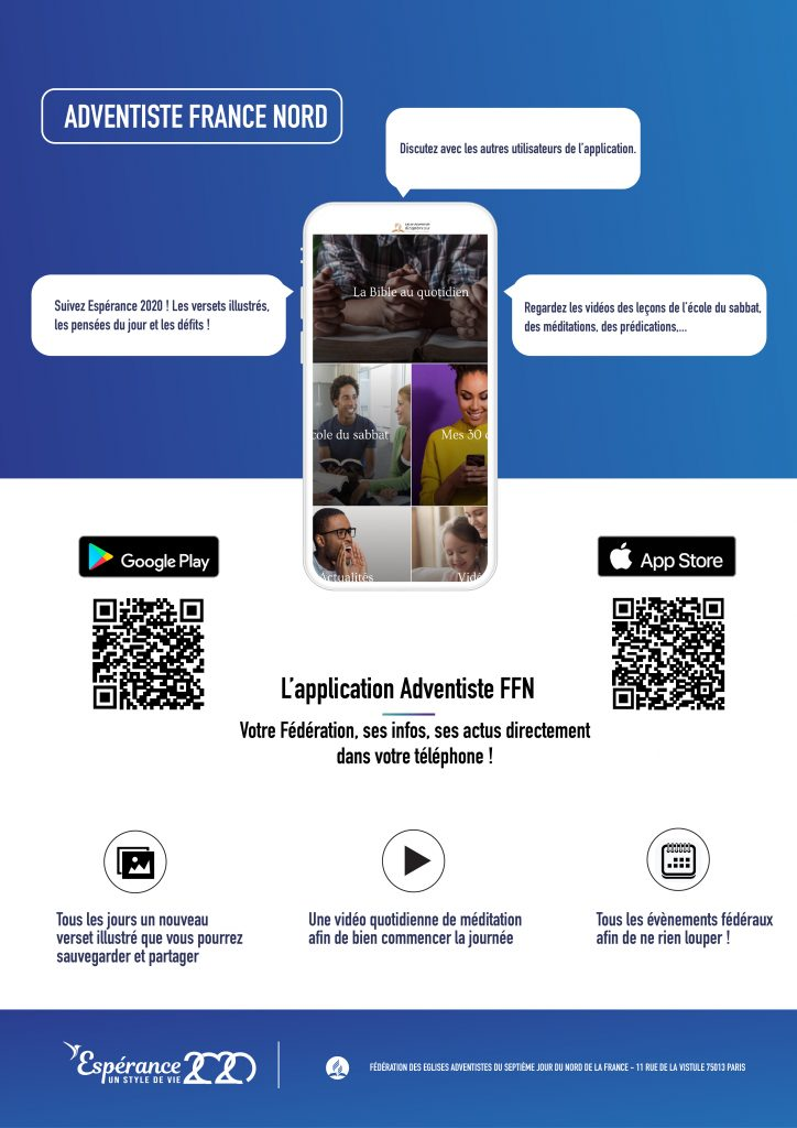 Affiche Application mobile FFN