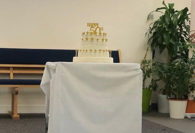 Gâteau d'anniversaire de la FFN