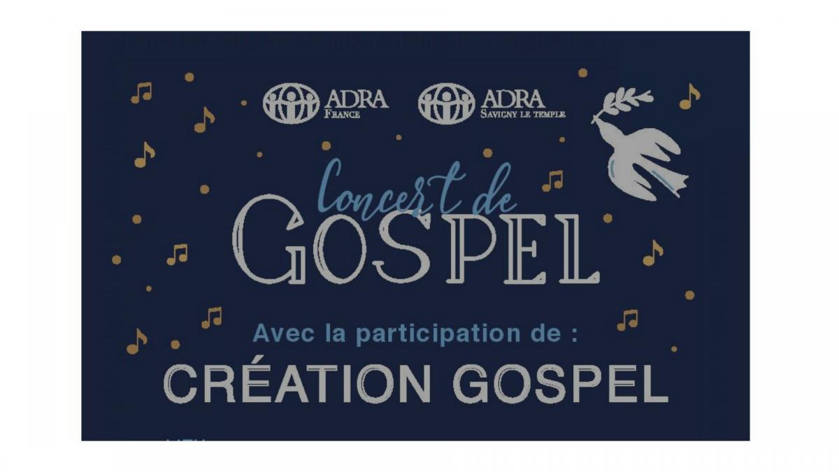 Concert de Gospel ADRA avec Création Gospel